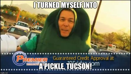 Tucson car dealer/Rick and Morty meme by Wcher999