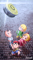 Earthbound , Is yoyo time ~~ by silverflamng