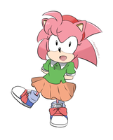 Sonic Mania - Amy by chocomiru02