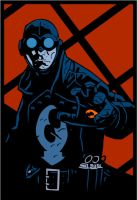 Lobster Johnson by witchking08