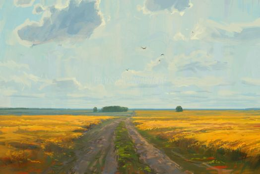 Bloom of Melilotus by RHADS