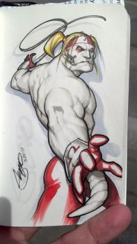 Omega Red doodle by SergioCuriel