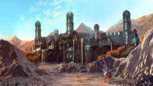 Palace - Concept Art by Ron-faure