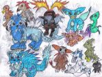 Fakemon Collage 3 by Keikoku147