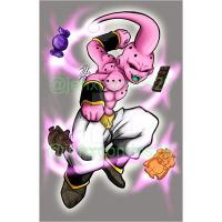 Kid Buu by JenXComics28