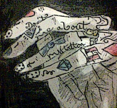 Tattooed Hands by theloverofTMI