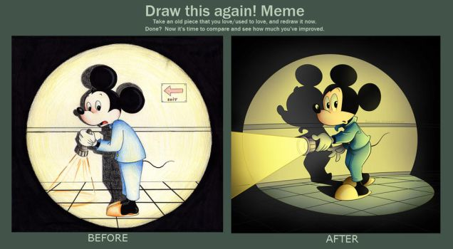 Draw This Again: Mickey Mouse by Eumenidi