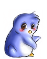 Penguin by pink-purin