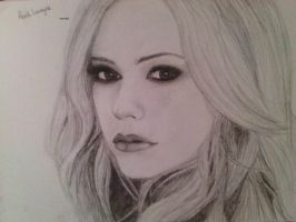 Avril Lavigne by Hannekee