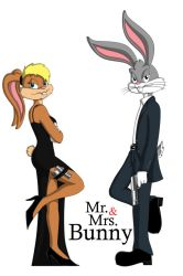 Mr. and Mrs. Bunny by GuiMontag