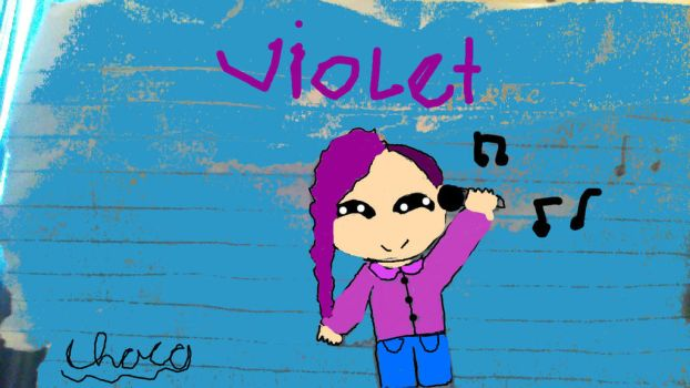 Violet by Cakeintimeandspace
