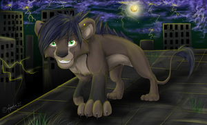 By Night by Art-by-Ling
