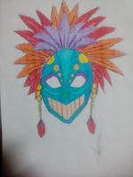 Festival Mask by imatrashcan2
