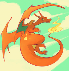 Fire Lizards by squeedgemonster