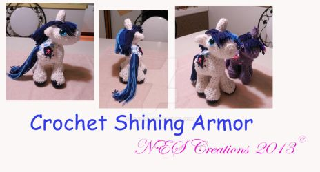 Crochet Shining Armor by Zero23