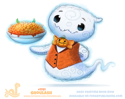 Daily Paint 1781# Ghoulash by Cryptid-Creations