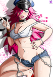 Commission: Poison Street Fighter! by ChigoSenpai