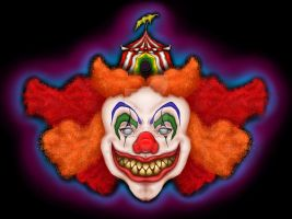 CaLaMiTy the Clown by BlackLavenderSoul