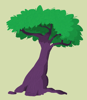 I'm just a simple tree - September of Draws Day 16 by ThermalTheorist