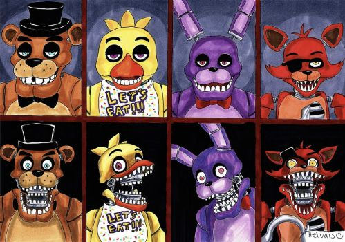 Five nights at freddy's by heivais