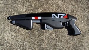 Mass Effect custom N7 Rifle by Unicron9