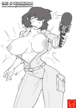 $10 Sketch APRIL O'NEIL for ReadyArt by Witchking00