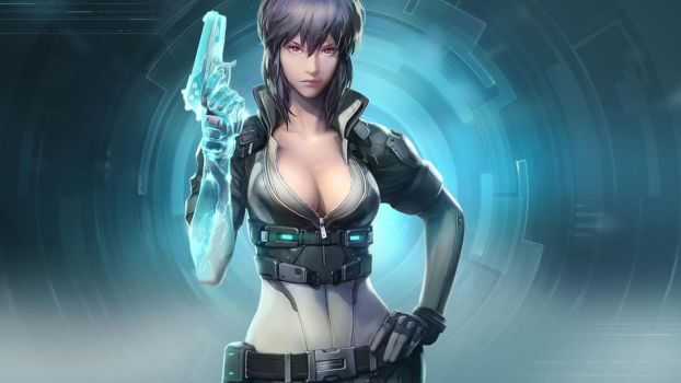 Ghost in the shell online kusanagi motoko by tataar