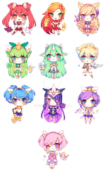 star guardian charms by 12chun