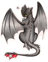 Love Toothless by TheAverageOtaku