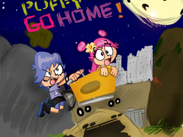 Puffy Go Home by iceclimbers87