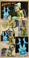 SOLD: Daring Do Fashion Style Custom by Nazegoreng