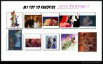 My Top 10 Favorite Pairings 2 by disneyfangirl774