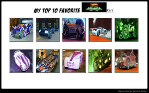 My Top 10 Acceleracers Cars by MarioFanProductions