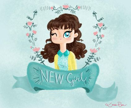 New girl by Louise-Rosa