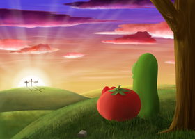 A Hilltop View by veggiefangirl