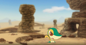 Request: Snivy in quicksand by sonicthehedgehogstic