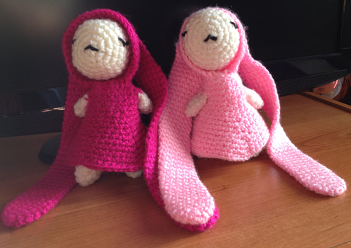 You and Me (Amigurumi) by CataCata23