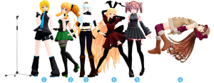 Figma Pose Pack + DL by teatime-plasmid