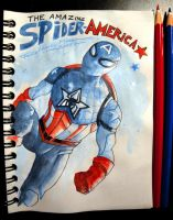The Amazing SPIDER-AMERICA by Frederic-Mur