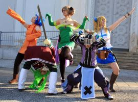 Fairy Tail - We are...THE GINYU FORCE! by ValentineResha
