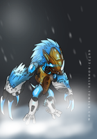 BIONICLE: Melum, Creature Of Ice by gk733