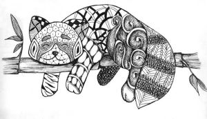 Zentangle by Khuce
