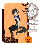 Hallows Haven: Black Puppy by Mew-Sempai