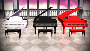 MMD Grand Piano Accessory Download [PMX format] by xXChibi-SenpaiXx