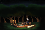 Redwall - Late Night Meal by 49ersrule07