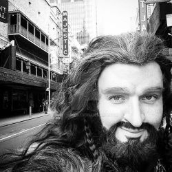 Thorin being 'Majestic' in NYC by Jathoris