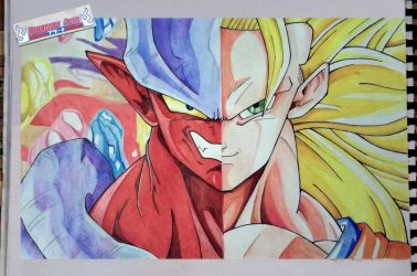 Goku Vs Janemba | Dragon Ball Z - Fusion Reborn by kurosaki720