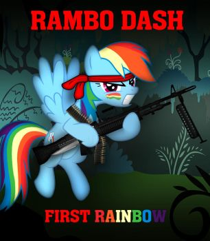 Rambo Dash First Rainbow by dan232323