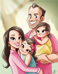 Family portrait 3 by Peipp