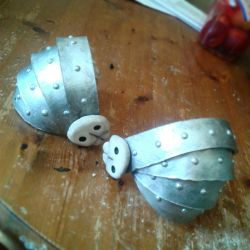 Astrids finished shoulder armour :D by BigMamaBear